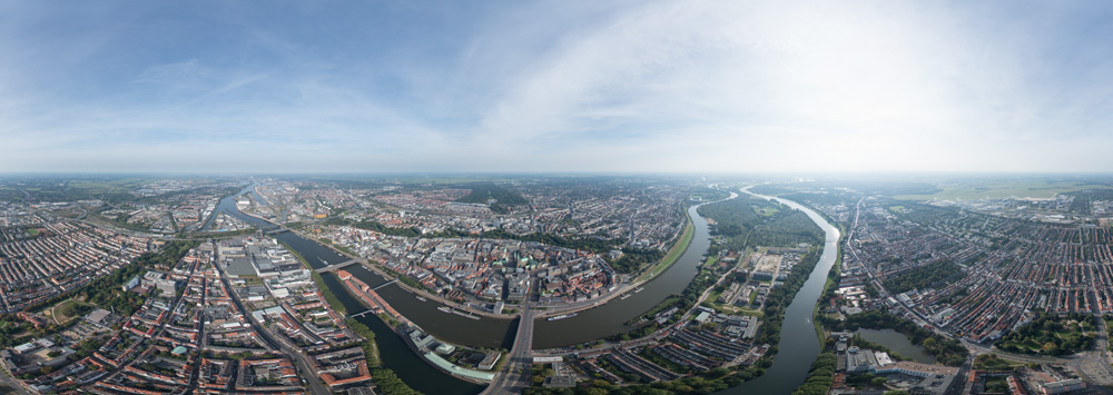 360° air-panorama bremen